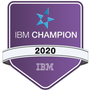 IBM Champion 2020 Award