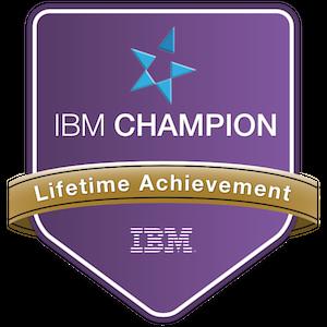 IBM Champion - Lifetime Achievement