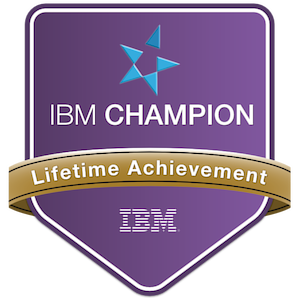 IBM Champion - Lifetime Achievement